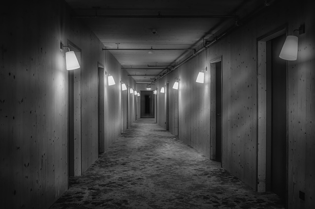 chodba hotelu