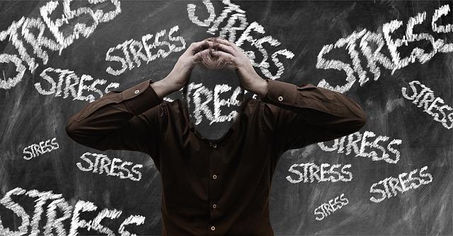 muž a stres