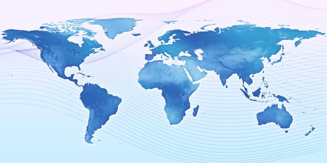 mapa světa znázorňující celosvětový problém