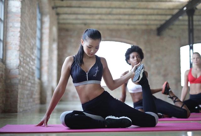 hubnutí, cvičení, fitness