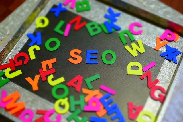 SEO z písmen